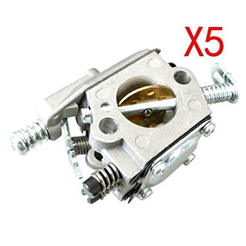 REFURBISHHOUSE Carb Carburatore per STIHL 025 023 021 MS250 MS230 Zama Motosega Walbro Sostituire Argento