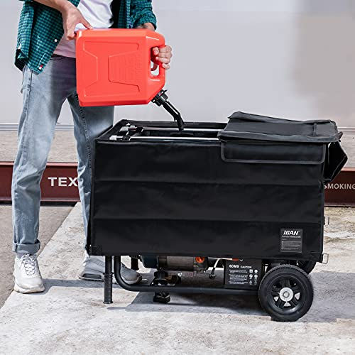 easily refuel your generator