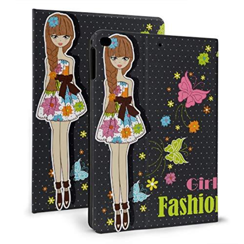 Ipad Kids Case Fashion Popular Lady Girls Cool Ipad Case For Ipad Mini 4/mini 5/2018 6th/2017 5th/air/air 2 With Auto Wake/sleep Magnetic Girl Ipad Case
