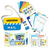 HOMER Mail Adventure Learn and Play Kit, Early Writing Activity Set for Children Ages 3-6, Language Games Box for Pre-School & Kindergarten to Teach, Build and Improve Community & Connection Skills