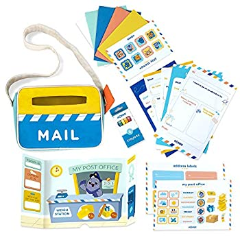 HOMER Toddler Toys Mail Adventure Learn and Play Kit Early Writing Activity Set for Children Ages 3-6 Pre-School & Kindergarten to Teach Build and Improve Community & Connection Skills