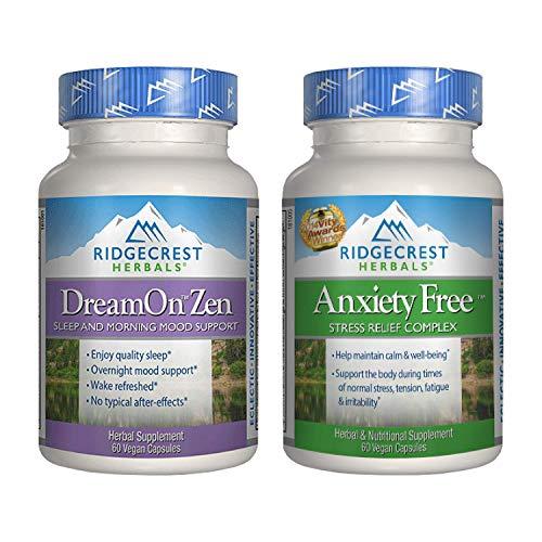 RidgeCrest Herbals DreamOn Zen 60 C…