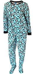 Women's Frozen One-Piece Plus-Size Pajama Bodysuit