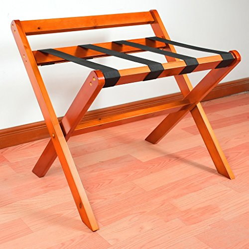 Great Price! JYXLJ Hotel Room Foldable Luggage Rack Suitcase Holder, Luggage Rack Shelving Suitcase ...