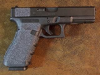 Sand Paper Pistol Grips Peel and Stick Grip Enhancements for the Glock Gen 3/Gen 4 Models: 17, 22, 31, 34, 35, 37