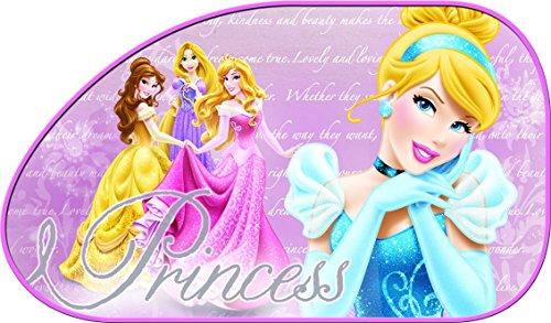 Disney 2 Pare-soleil Latéraux Princesses 65 x 38 cm