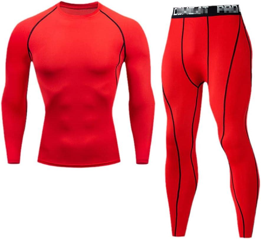 Winter Long Johns Clothing Men's Thermal Underwear Sets Compression Training Men Clothin