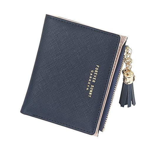 Agolaty Corta02 Damen Geldbörse, Mini-Brieftasche, kurz, Schwarz, Unisex, Erwachsene, Schwarz, M