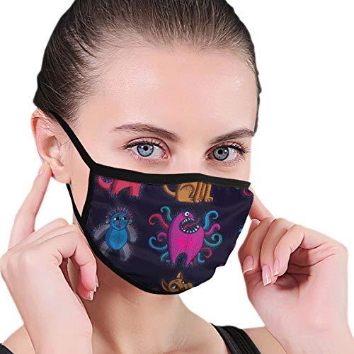 Doinh Black Edge Masker, Zittend Leeuw Met Tanden En Mooie Mane, stof Masker, Geschikt voor Mannelijke En Vrouwelijke Maskers