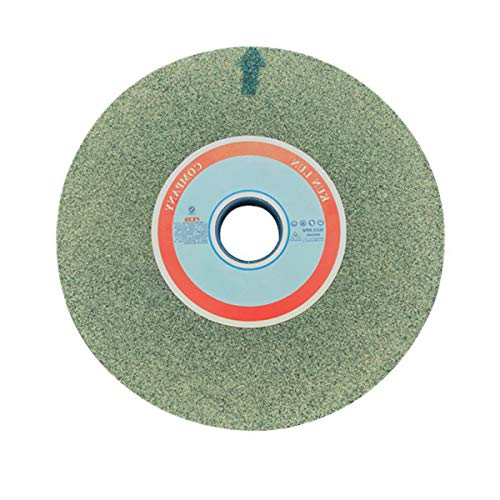 LOKIH Muela Abrasiva 46/60/80/100/120 Material: Carburo De Silicio Verde, Diámetro Exterior: 150 mm, Diámetro del Agujero: 32 mm, Grueso: 20 mm,120 Grit