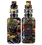 Decal Kid Skin for vaporesso Luxe - Comics 01 | Protective, Durable, Unique Vinyl Decal wrap Cover | Easy to Apply, Remove, and Change Styles and Change Styles