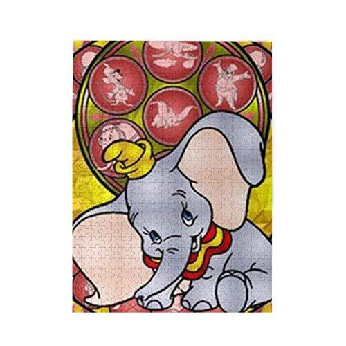 yushan Puzzle Dumbo 500 Stück Puzzle für Erwachsene und Familien Geschenk