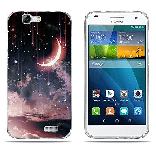 DIKAS Funda para Huawei Ascend G7 (L01 L03 C199) Carcasa de Silicona Transparente TPU, Protectora Case Bumper Flexible de Goma de Altisima Calidad para Huawei Ascend G7 (L01 L03 C199)- pic: 14