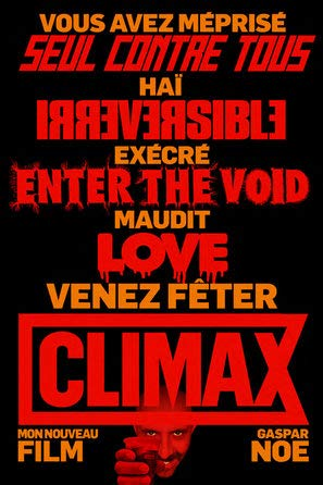 Climax – Gaspar Noe – French Movie Wall Poster Print - 30cm x 43cm / 12 Inches x 17 Inches