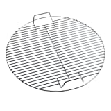 Huaxiong Grille ronde en acier inoxydable pour barbecue dia44,5 cm Huaxiong Grille...
