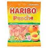 Haribo Caramelle Morbide e Gommose alla Pesca, 175ml...