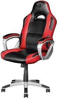 Trust Gaming GXT 705 Ryon Sedia Gaming Ergonomica, Nero/Rosso