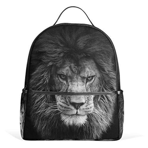 Animal Lion King Wild Sacs à Dos Ordinateur Book Bag Voyage Randonnée Camping Daypack