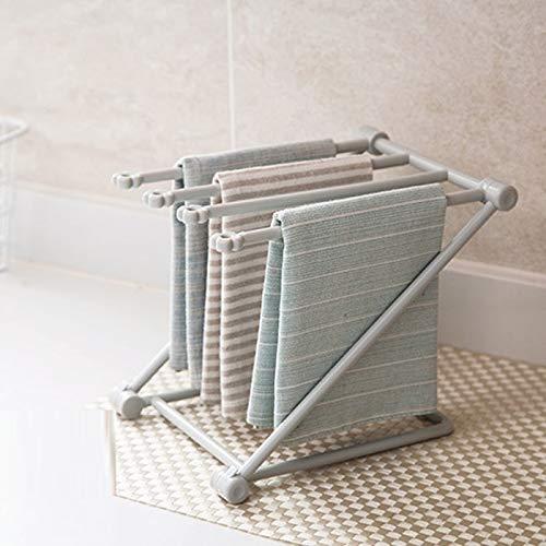 loolふきん掛けふきんハンガー北欧カラーシンプル布巾ハンガースタンド折りたたみグレー