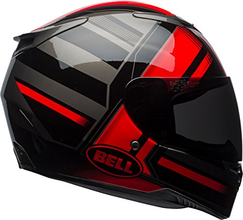 Bell Casques RS2, Tactica Rouge/Dos/Titane, Taille L