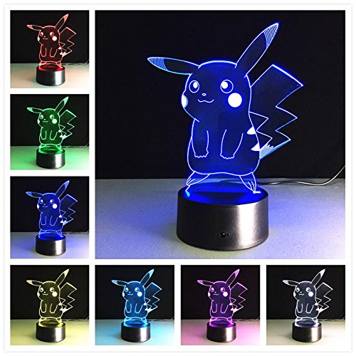 3D USB Nachtlicht LED Schreibtisch Tisch Tamp Weihnachten Kinder Geschenk Home Decoration Cartoon Anime Dragon Ball Hollywood Film Superheld Goku Monster Tier Raumschiff Roboter
