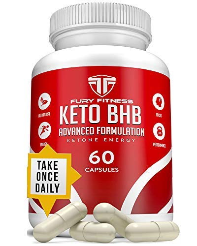Keto BHB Oil Capsules - BHB exogenous Ketones - Keto Pills to Aid Diet - High Energy Increased Focus- Help Stave Off Hunger Pains and Reach Body Goals- Ketogenic Diet Supplement Pills - 60 Capsules