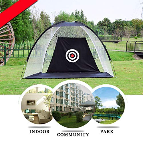 WUTONG Golf Net Foldable Golf Batting cage Field Indoor and Outdoor...