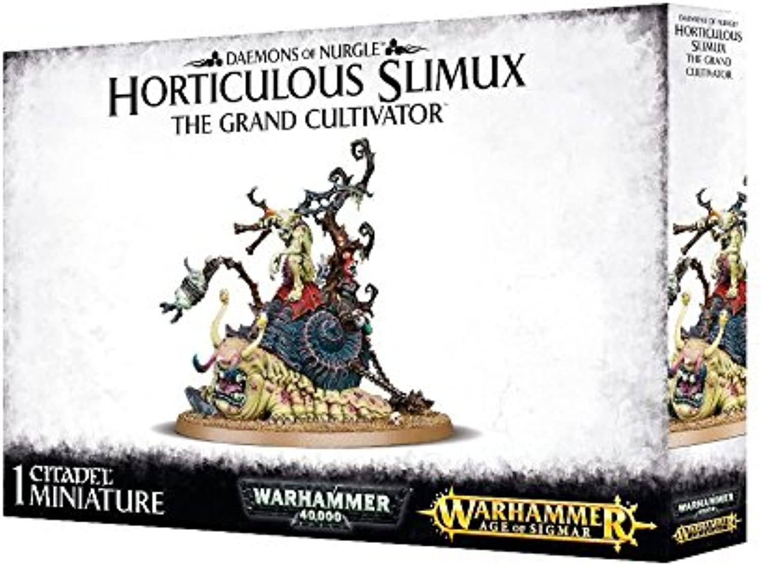 Daemons of Nurgle Horticulous Slimux The Grand Cultivator Warhammer 40.000 Age of Sigmar