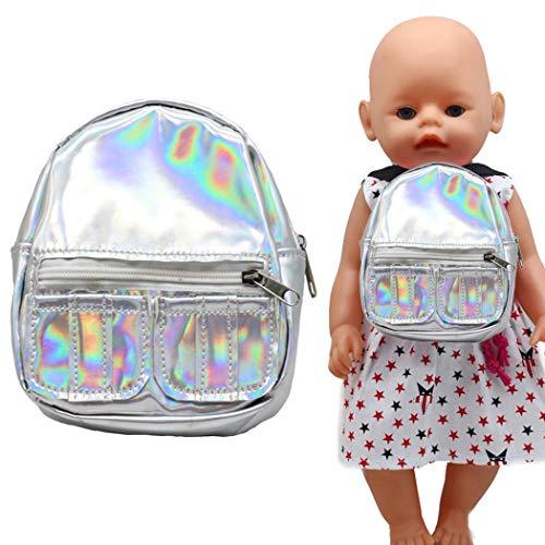 Joyibay Puppenrucksack Süß Mini-puppentasche Puppe Schultasche Puppenzubehör Für 18in Puppen