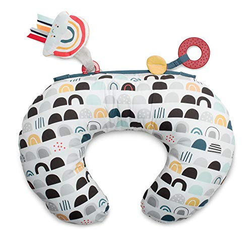 Boppy Tummy Time Prop Pillow, Black White & Rainbow