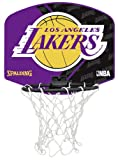 Spalding Miniboard Los Angeles Lakers 77-592Z, Mehrfarbig, One size -