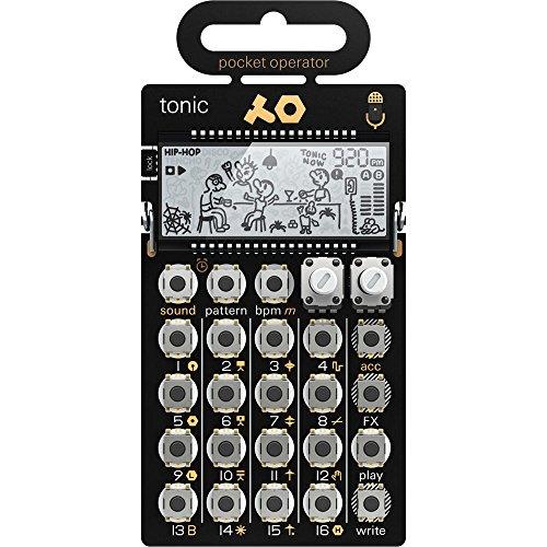 Teenage Engineering PO-32 Tonic Drum Synthesizer und Sequenzer, Gold/Schwarz