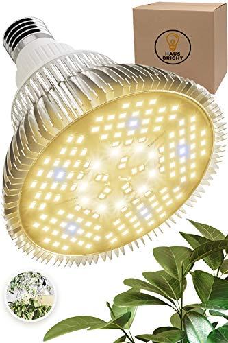 100W LED Grow Light Bulb - Warm White Full Spectrum Plant Light for Indoor Plants, Garden, Aquarium, Vegetables, Greenhouse & Hydroponic Growing | E26/E27 Socket (AC85-265V) by Haus Bright