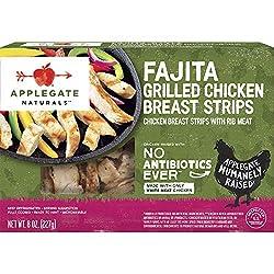 Applegate, Natural Fajita Style Grilled Chicken Breast Strips, 8oz