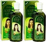 Dabur Amla Gold - Aceite para el cabello (200 ml, 2 unidades)