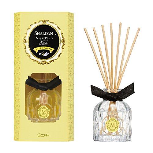 シャルダン SHALDAN ステキプラス スティック 消臭芳香剤 部屋用 部屋 本体 ムーンライトシャボンの香り 45ml