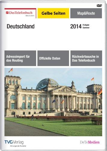 Das Telefonbuch Gelbe Seiten Map&Route Frühjahr/Sommer 2014