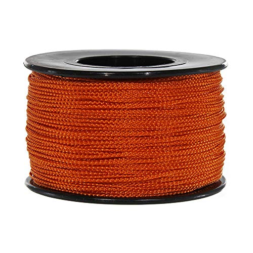 Atwood Mobile Products Micro Sport Cord 1.18mm X 125 Ft Small Spool Lightweight Braided Cord (Burnt Orange)