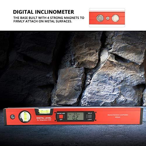 SALUTUYA Buscador de ángulo magnético LCD Grande y Claro para la Noche para Profesionales