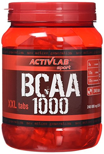 ACTIVLAB SPORT BCAA 1000 XXL Supplement Tablets - Pack of 240