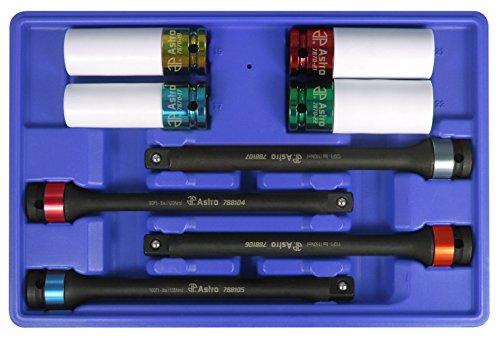 Astro Pneumatic Tool 78818 8-Piece Torque Limiting...