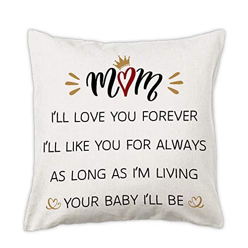 $2.50 Mom Throw Pillow Cover Use promo code: 50DSQ43O