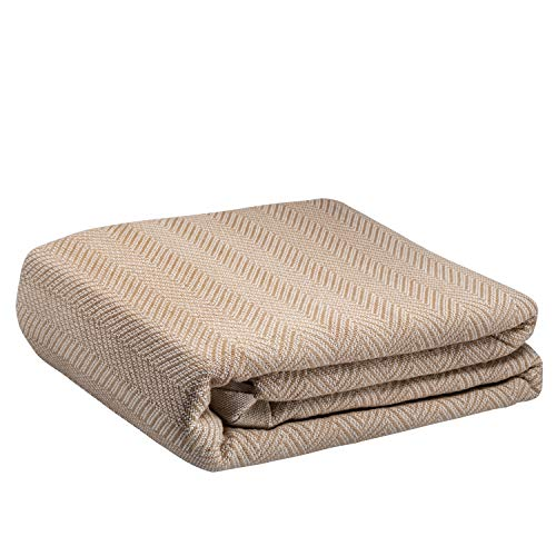 Buy Cheap Elivo Thermal Blanket – 100% Cotton – All Season Blanket – Snag-Free – Bed Layerin...