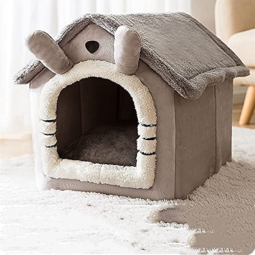 QWEQWE Casa Plegable para Mascotas Casa de Gato acogedora para Perros pequeños Gatito de Gato Suministros para Mascotas (Color : Pet House 1, Size : S01)