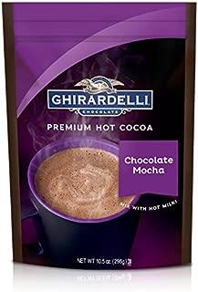 Ghirardelli Hot Chocolate Mocha Pouch, 10.5 Ounce