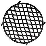 BBQ-Toro Griglia in ghisa Ø 30 cm | Sear Grate Adatta per Weber Gourmet BBQ System (GBS) | griglia in ghisa adatta per Barbecue a Sfera di 57 cm