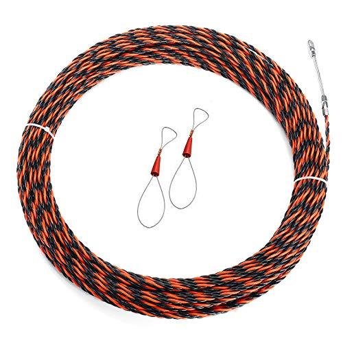 MJJEsports 8 maten 5mm kabel trekker glasvezel draad trekker elektrische gereedschap vis tape kabel, 30M, 1