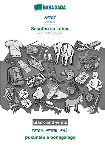 BABADADA black-and-white, Amharic (in Ge¿ez script) - Sesotho sa Leboa, visual dictionary (in Ge¿ez script) - pukuntSu e bonagalago: Amharic (in Ge¿ez script) - NorthSotho(Sepedi), visual dictionary