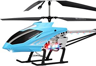 Large Remote Control Helicopter, Children's Toy Model Aircraft Charging With LED Lights, RC Aircraft 2.4g Model, The Best ...