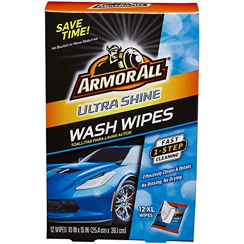 Armor All 18240 1 pack of 12 Ultra Shine Wash...
